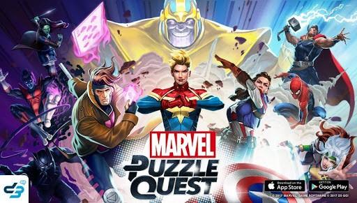 Marvel Puzzle Quest เกมเปิดจักรวาลการ์ตูนมาเวล
