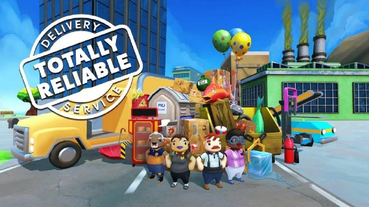 Totally Reliable Delivery Service เกมขนส่งของสุดฮา